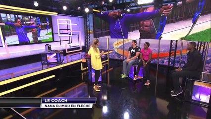 L'EXPRESSO sur beiN Sports avec Antoinette Nana Djimou, Vanessa Le Moigne, Mamadou Jaiteh et Vincent Parisi.