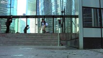 Sacked On A Handrail Skateboarding