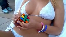 Rubiks Cube Invention, how to solve a rubik cube, Funny Video