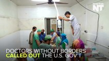 Doctors Without Borders Accuses U.S. Of War Crime In Afghanistan