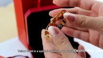 Replica Cartier Love Bracelet Yellow Gold Old Version Screws can be removed Price Fair