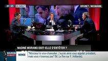 Brunet & Neumann: Nicolas Sarkozy a-t-il eu raison de sanctionner Nadine Morano ?- 08/10