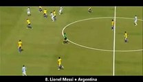 Best Football Goals - Lionel Messi for Argentina (How Messi steals a win for Argentina)