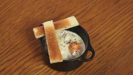 Recette facile et rapide des oeufs cocotte, cuisson micro-ondes - Clickncook.fr