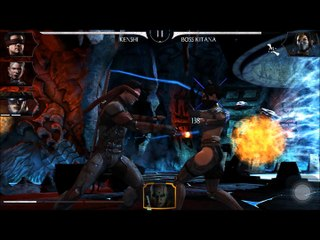 MKX : Cassie Cage Agent secret VS Boss Kitana — Mortal Kombat X (Carte 7 — Tour 10)