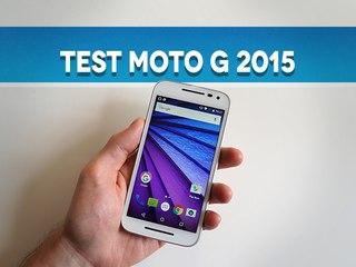 Test du Motorola Moto G 2015 (3e génération)