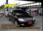 PTC GAS LPG TEST DRIVE HONDA CITY ZX