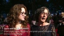Pankhurst descendants at Suffragette premiere