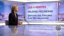"""Les 4 Vérités-Valérie Pécresse : """"Nadine Morano ne se limite pas à cette phrase"""""""