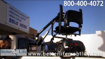 Bruno Out Rider Wheelchair Accessible Truck Lift Video