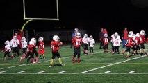 Quand la musique démarre, ces jeunes athlètes oublient de jouer au football américain