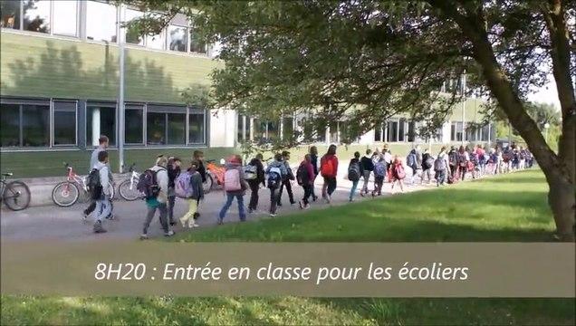 Un collège des Vosges héberge des classes de primaire (2015)