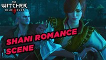 Shani Romance Scene - The Witcher 3: Hearts of Stone Gamesplay **SPOILERS**