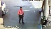 Policía logró someter a un delincuente sin usar sus manos