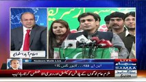 Nadeem Malik Blasts on Pervez Rasheed for Misbehaving with Samaa Reporter