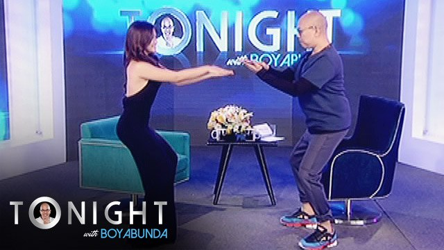 "TWBA: Boy Abunda dances to ""Twerk It Like Miley"" with Maja Salvador"