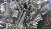 Urban Explorers In Hong Kong Climb To Dizzying Heights