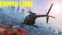 GTA V ( Free Mode Events) - Habilidades de Helicóptero