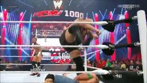 The Rock saves John Cena and gets attacked by CM Punk WWE RAW