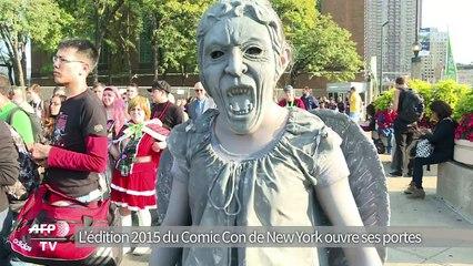 L'édition 2015 du Comic Con de New York ouvre ses portes