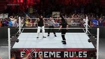 WWE 2K15 bray wyatt v seth rollins