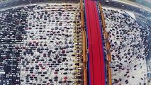 Voila à quoi ressemble un embouteillage en Chine
