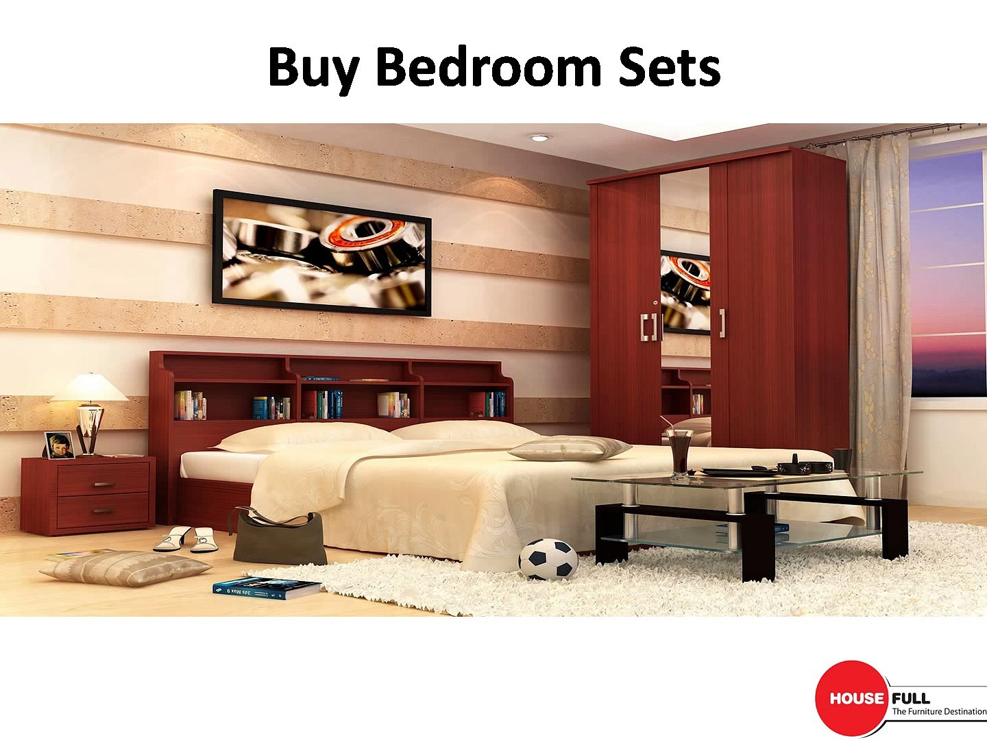 Buy Bedroom Furniture Set Online In India At Housefull Co In Video Dailymotion