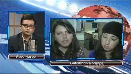 watch Two Pakistani Girls Cyclist..Promoting Tourism and Women Sports- Intv with Asad Hassan VOA