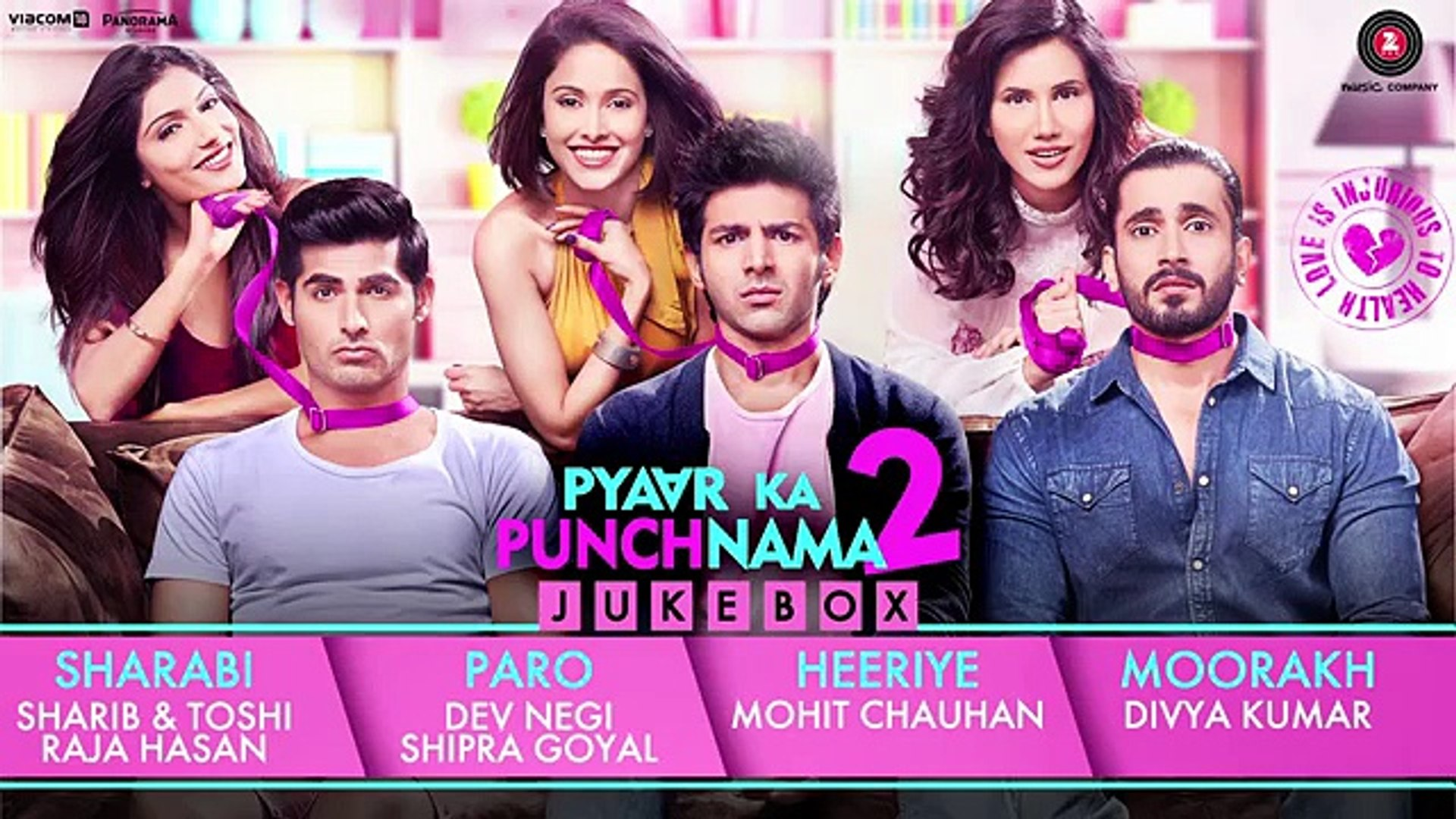 Pyaar Ka Punchnama 2 - Full Album - Audio Jukebox _ Hitesh Sonik, Sharib _ Toshi