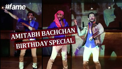 Terence Lewis - Amitabh Bachchan Birthday Special - #fame