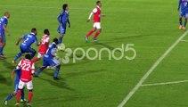 Soccer Jump For Head Ball Football Sports Athletics Stock Video 35907991  HD Stock Footage