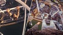 POV Crane Climb in Southampton, UK | James Kingston: POV Adventures