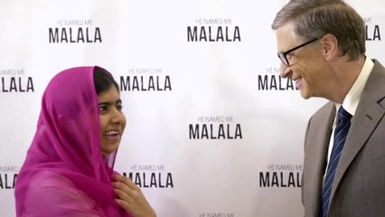 Bill Gates Meeting with Malala