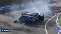 Crash impressionnant pendant la course de Supercars Bathurst 1000