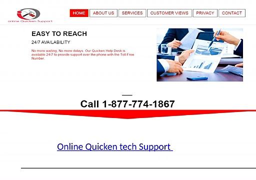 Online Quicken tech Support 1-877-774-1867 Quick book Support
