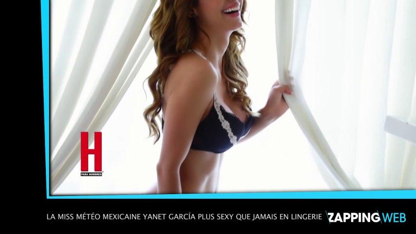 La miss météo mexicaine Yanet García fait le buzz après sa vidéo sexy !