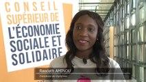 Archive - Conseil supérieur de l'économie sociale et solidaire - Interview de Raodath Aminou