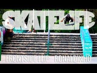 Frontside Flip | Tutorial #SKATELIFE | Ronaldinho Vilela