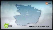 METEO OCTOBRE 2015 [S.10] [E.10] - Météo locale - Prévisions du samedi 10 octobre 2015