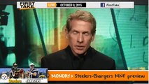 ESPN First Take - Peyton Manning Performance at Broncos vs. Raiders