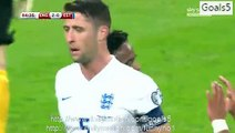 Raheem Sterling Goal England 2 - 0 Estonia Euro Qualifications 9-10-2015
