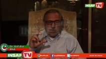 PTI Arif Alvi Special message for voters of NA-122