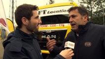24 Heures Camions 2015 - Interview Fabien Calvet sur les différentes techniques de roulage en Camions