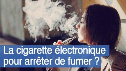 La cigarette électronique pour arrêter de fumer ?