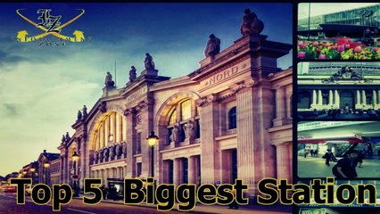 5 Largest Railway Stations
