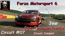 Forza Motorsport 6 - Un circuit #07 - Circuit de Spa-Francorchamps - Circuit complet  Jour
