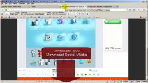 How to add Social Media Icons Facebook and Twitter to Joomla 2.5