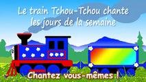 Apprendre lalphabet en français avec le train Tchou-Tchou ! Chansons pour petits en franç