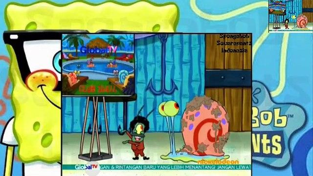 Spongebob Squarepants Indonesia - Plankton menyamar menjadi gary