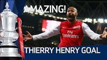Amazing Henry Goal on Return to Arsenal - Arsenal 1-0 Leeds Utd | FA Cup 3rd Round Proper
